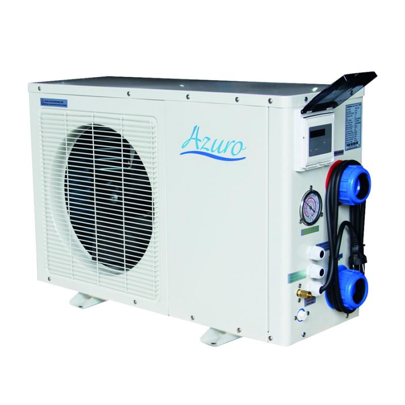 Pompa di calore azuro 3kw fino a 20 mc for Pompa x piscina esterna