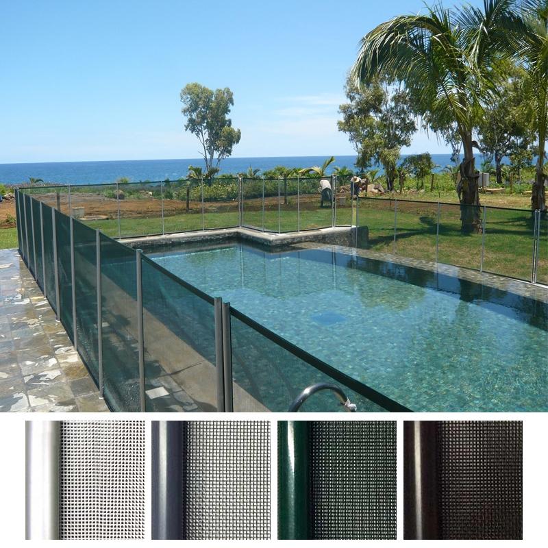Recinzione di sicurezza in piscina beethoven morbida - Recinzione piscina legno ...