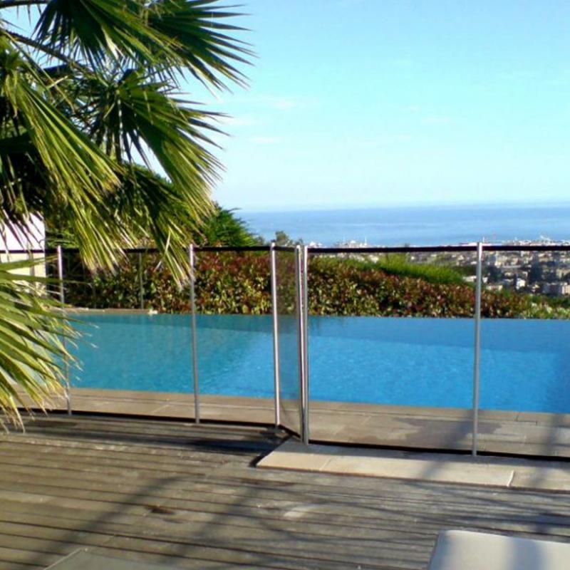 Recinzione di sicurezza in piscina beethoven morbida - Piscina smontabile ...