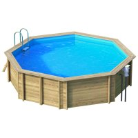 Piscina in legno NaturalWood 530 - Ø 528 x h133 cm