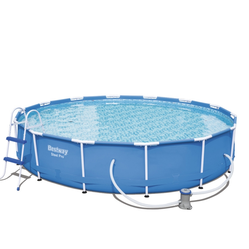Piscina fuori terra bestway steel frame for Piscine fuori terra best way