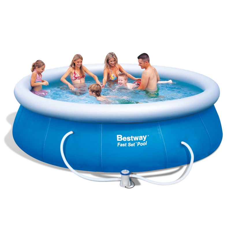 Piscina fuori terra bestway fast set for Piscine fuori terra best way