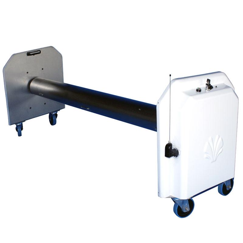 Rullo avvolgitore rollertube plus battery 2 teli for Teli per piscine