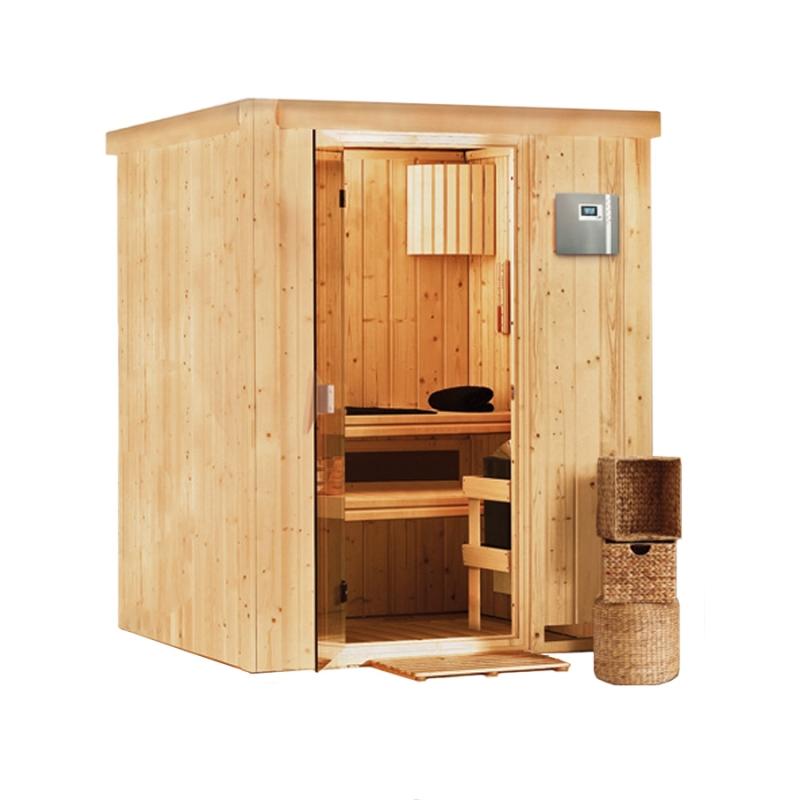Sauna finlandese tradizionale heikki 2 posti - Sauna per casa prezzi ...