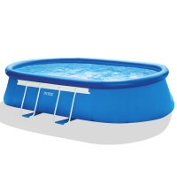 Piscina Fuori Terra INTEX Frame Ellipse 6,10 x 3,66 h 1,22 m