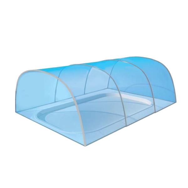 Copertura telescopica per piscina CAROLINA - alta  BSVillage.com