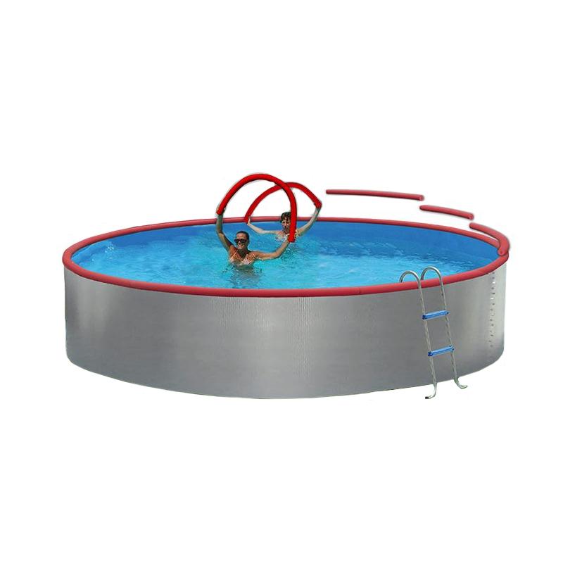 Piscina fuori terra foam 3 50 x h 0 90 m for Piscina h 90