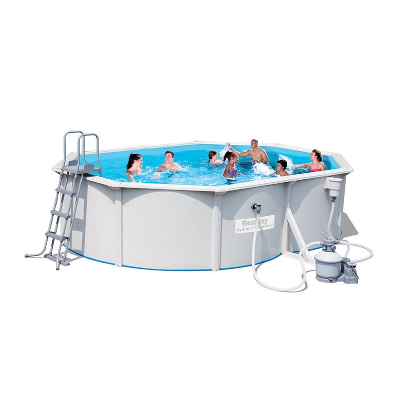 Piscina fuori terra bestway hydrium 5 00 x 3 60 x h 1 20 m for Piscine fuori terra best way