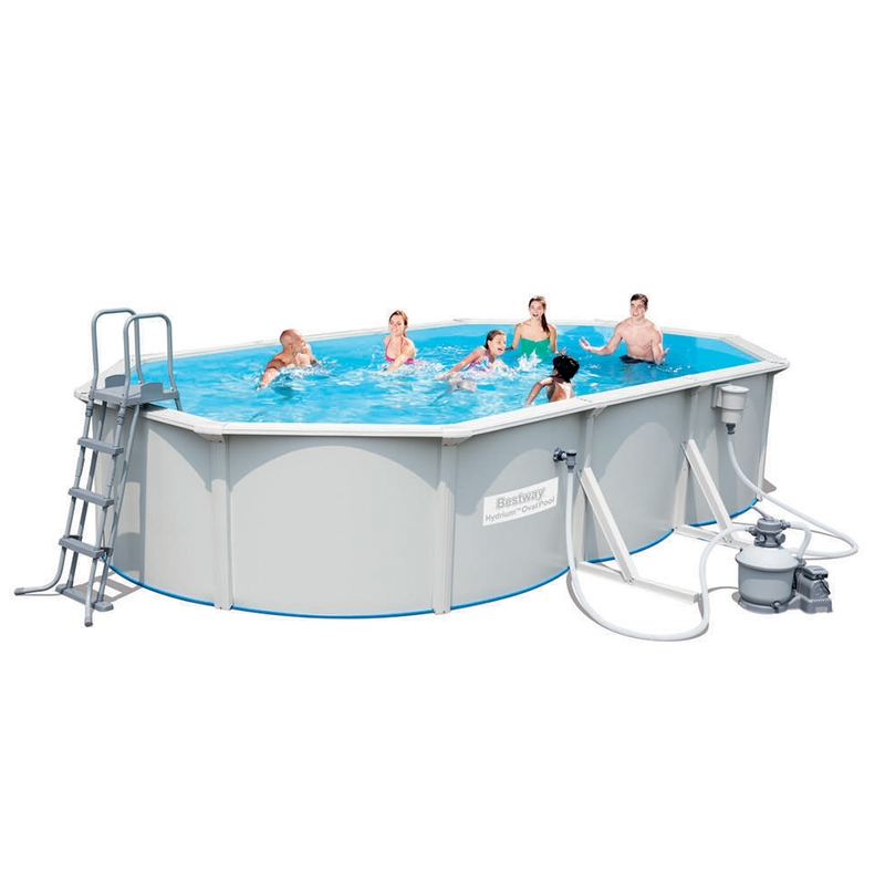 Piscina fuori terra bestway hydrium 6 10 x 3 60 x h 1 20 m for Piscine fuori terra best way