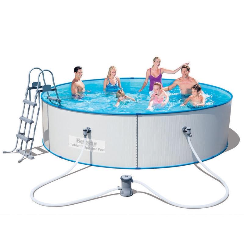Piscina fuori terra bestway hydrium splasher 4 60 x h 0 for Piscina h 90
