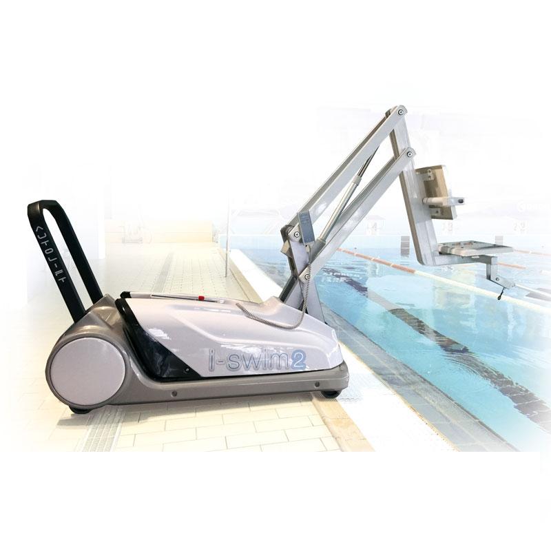 Sollevatore per disabili i swim2 per piscina con bordo - Sollevatore piscina per disabili ...