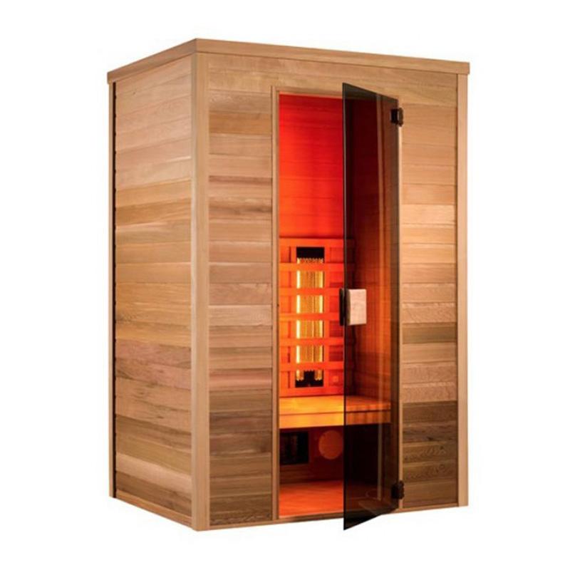Sauna Holl's a raggi infrarossi Karin 3 posti  BSVillage.com