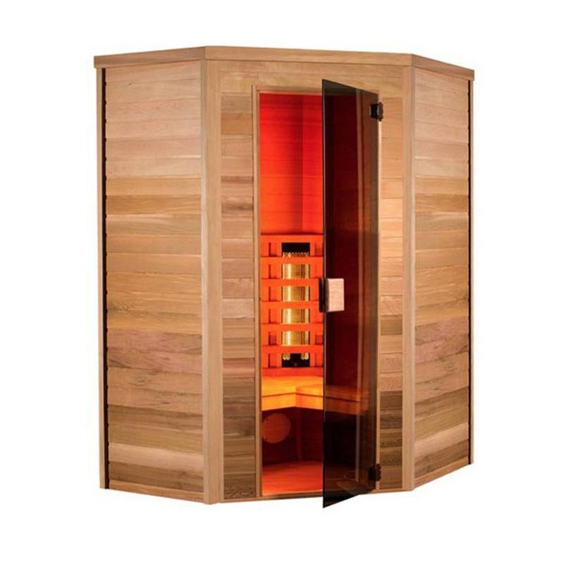 Sauna a raggi infrarossi Mei 3 posti  BSVillage.com
