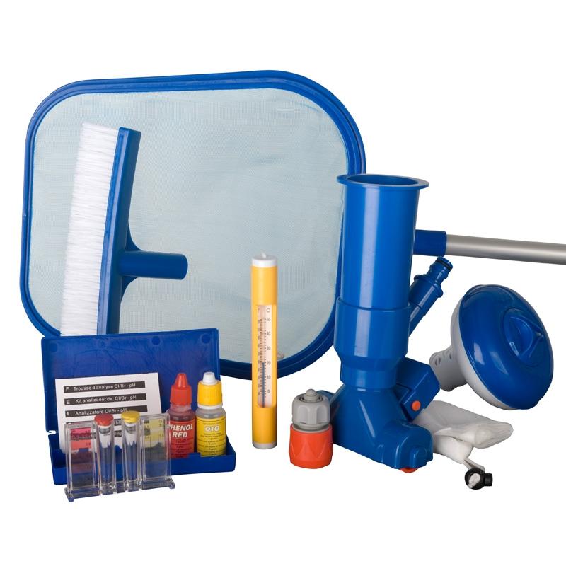 Kit di pulizia ventuy gre per piscine autoportanti for Accessori piscine gre