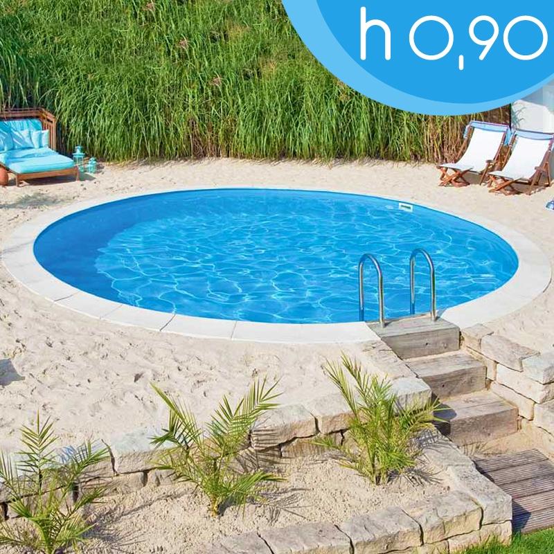 piscina interrata circolare maya 300 3 00 h 0 90 m On piscina 3x2 interrata