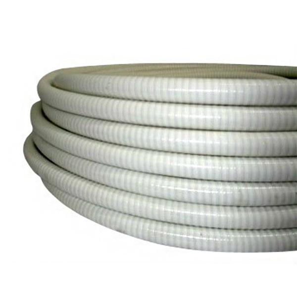 Tubo spiralato in pvc flessibile per impianto filtrazone for Collegamento del tubo di rame al pvc