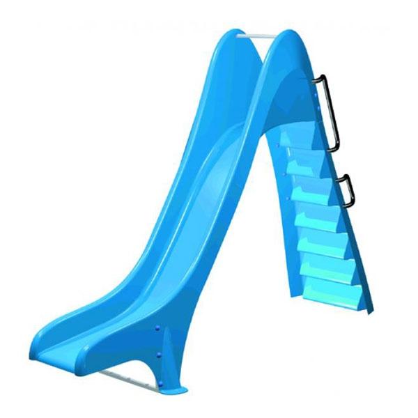 Scivolo per piscina blu dritto h1 50 m for Piscina 50 m