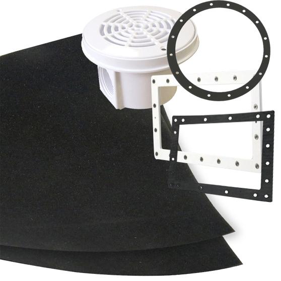 Kit per la costruzione di guarnizione per flangia for Kit di costruzione portico