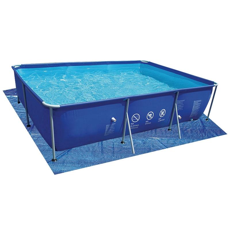 Tappetino di sottofondo per piscina fuori terra jilong passaat - Tappetino per piscina ...