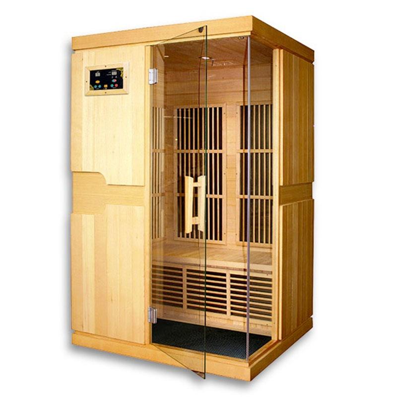 Sauna a raggi infrarossi Isabel2 - 2 posti  BSVillage.com