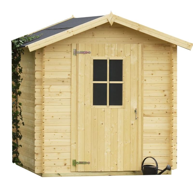 Casetta in legno da giardino londra 1 98 x 1 98 m - Casetta di legno da giardino ...