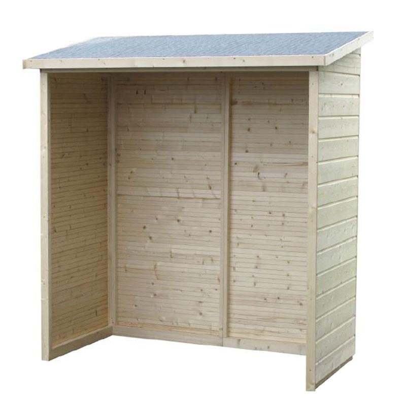 Legnaia a pannelli open 1 82 x 0 91 m da esterno for Tinozze da giardino