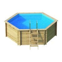 Piscina in legno EcoWood BWT TROPIC 410 - Ø 4,03 x h 1,20 m
