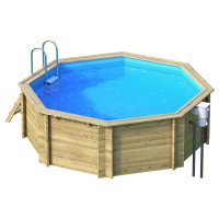 Piscina in legno EcoWood BWT TROPIC 414 - Ø 4,14 x h 1,20 m