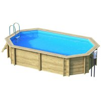 Piscina in legno EcoWood BWT TROPIC +450 - 4,52 x 3,13 x h 1,20 m