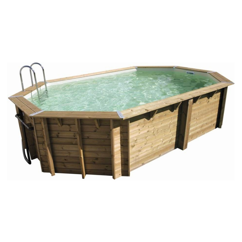 Piscina in legno NorthWood 550 - 5,50 x 3,55 h.1,20 m