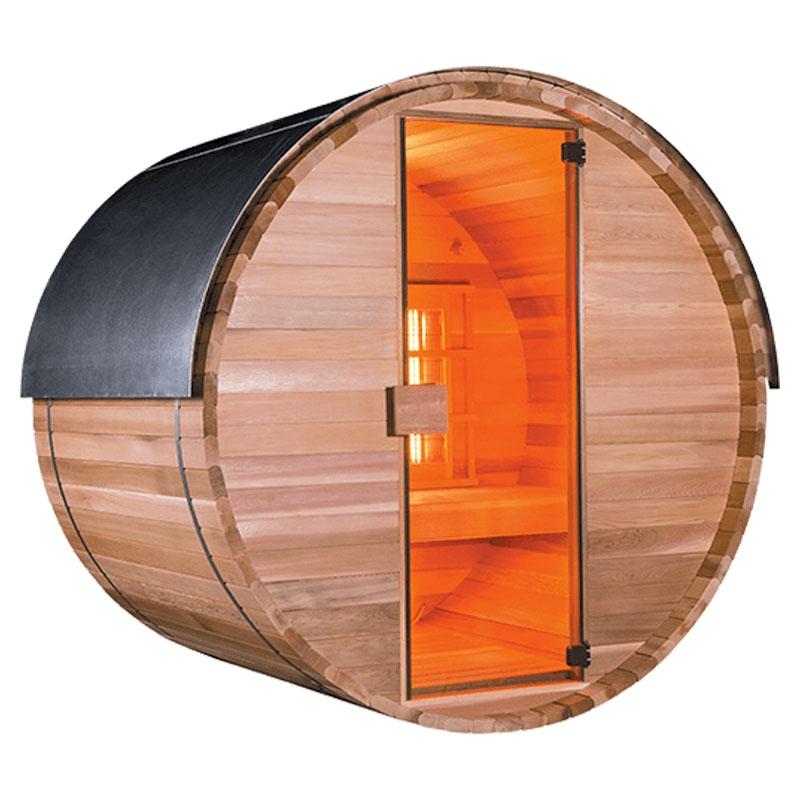 Sauna a raggi infrarossi ASGARD - 3 posti  BSVillage.com
