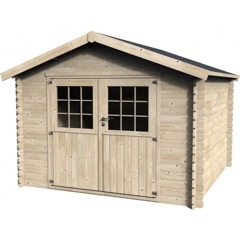 casetta in legno lea 3 17 x 3 13 m da esterno. Black Bedroom Furniture Sets. Home Design Ideas
