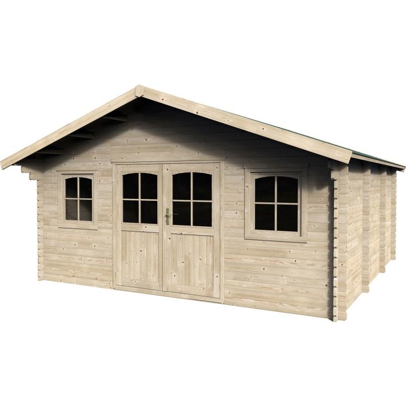 casetta da giardino in legno valogran 5,17 x 4,34 m | bsvillage