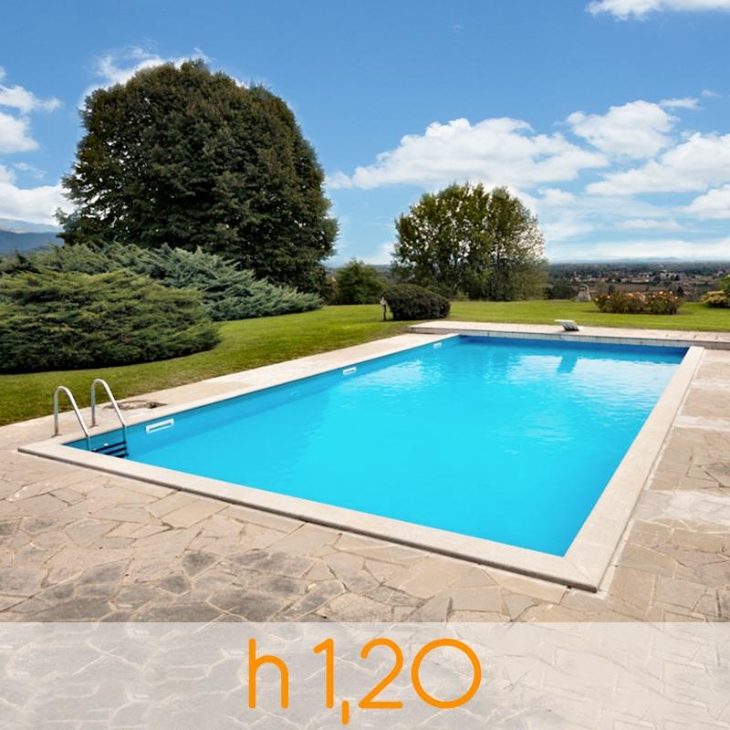Piscina in cemento armato kit di installazione arizona 8 - Scalda acqua per piscina ...