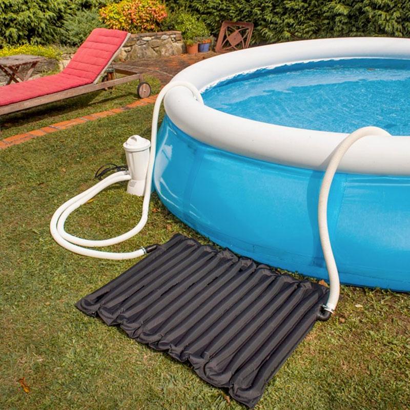 Tappetino gre a riscaldamento solare per piscina autoportante - Tappetino per piscina ...