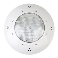 Faretto Gre Ø 28x7cm LED bianco/Multicolor per piscina interrata
