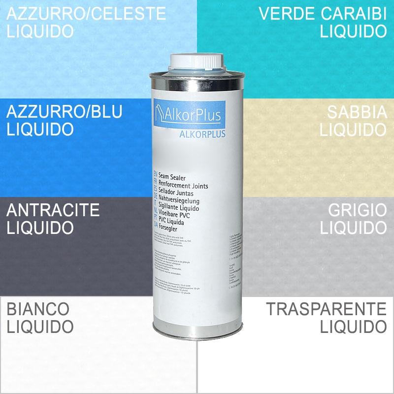 Rivestimento liner alkorplan in pvc liquido tanica da 1 kg - Piscine in pvc ...