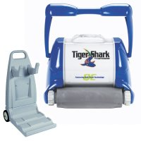 Robot per piscina Tiger Shark XL QC Hayward con carrello