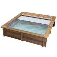 Piscina in legno NaturalWood BWT URBAN - 4,20 x 3,50 x h.1,33 m