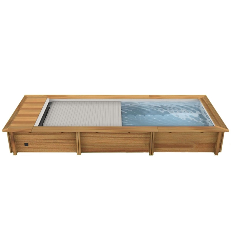 Piscina in legno NaturalWood URBAN - 6,00 x 2,50 x h 1,33 m
