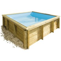 Piscina in legno NaturalWood JUNIOR - 2,26 x 2,26 x h. 0,68 m