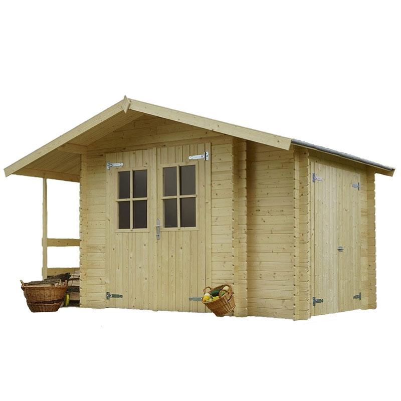 Casetta in legno margherita 2 60 x 2 00 m da giardino - Porta attrezzi legno ...