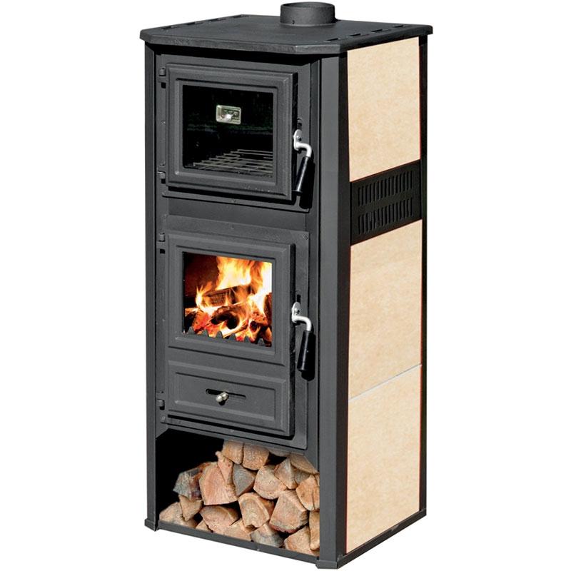 Stufa a legna ambasador r 12 kw con forno - Pulizia stufa a legna ...