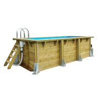 Piscina in legno NorthWood FIT - 4,50 x 2,50 h.1,40 m
