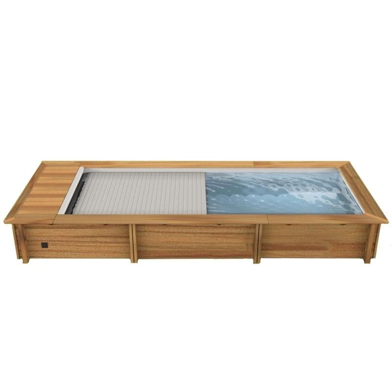 Piscina in legno naturalwood urban 6 50 x 3 50 x h 1 33 m - Piscine da esterno in legno ...