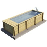 Piscina in legno NaturalWood BWT URBAN Pool  n Box - 6,26 x 2,53 x h.1,33 m