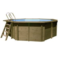 Piscina in legno PoolWood - Ø 5,11 x h.1,24 m