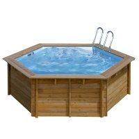 Piscina in legno PoolWood - Ø 4,12 x h.1,19 m