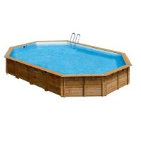 Piscina in legno PoolWood - 8,72 x 4,72 x h.1,46 m