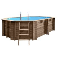 Piscina in legno PoolWood - 6,72 x 4,72 x h.1,46 m